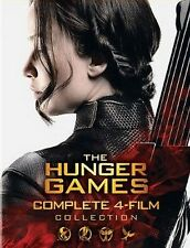 The Hunger Games Complete 4-Film Collection (8 Disc, DVD, 2016) Brand New!