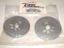 TRAXXAS X-MAXX 7076 GPM SILVER ALUMINUM REAR WHEEL HEX WITH BRAKE DISK TMX006R