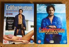 CALIFORNICATION Season 1 & 2 DVD Hank Moody DAVID DUCHOVNY Lot