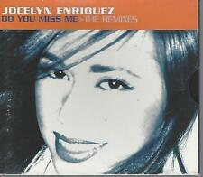 Jocelyn Enriquez - Do You Miss Me The Remixes [CD Single] (1996) Promotional CD