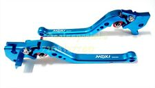 Blue Long Adjustable Brake Clutch Lever Yamaha R15 - All Models