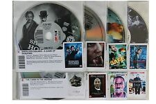 8 x DVDs Film Ex Rental Movie Films Package Collection in Good Condition (F6)