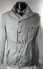 AQUASCUTUM Grey HOODED Orton AQUAMAC Packable SHORT Parka Style Rain Coat 38r
