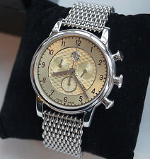 Rare MERCEDES BENZ 300SL Edition Men`s Women`s Chronograph Watch with IWC Strap