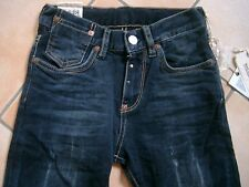 (302) RARE -The Kid Boys used look Jeans Hose ausgefallene 5te Tasche gr.104