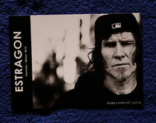Mark Lanegan Estargon 10 x 15 Italian flyer  Screaming Trees Nivana Pearl Jam