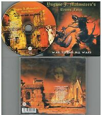Yngwie J. Malmsteen's Rising Force ‎– War To End All Wars  CD Album,2000