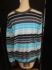 MENS STRIPED ELEMENT SWEATER SIZE MED / SO NICE
