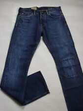 JEANS EDWIN ED71 SLIM  (double listed selvage - stone washed  )  W31 L34