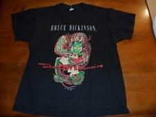 Iron Maiden Bruce Dickinson rare Tattooed Millionaire shirt Size Large Excellent