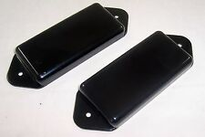 SET OF 2 X PLASTIC P90 DOG EAR  PICKUP COVERS / BLACK