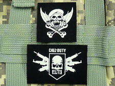 Call of Duty Black Ops prestige level 15 logo Elite PVC Patch Hook Loop  IR usa