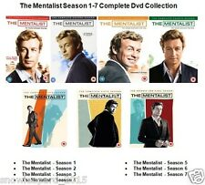 THE MENTALIST COMPLETE SERIES 1 2 3 4 5 6 7 DVD Set Brand New and Sealed UK