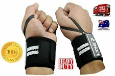 LIONS FIT BODYBUILDING WEIGHTLIFTING GYM TRAINING WRIST SUPPORT BAR STRAPS WRAPS