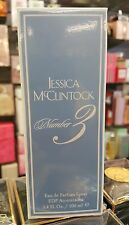 Number 3  Jessica McClintock  EdP  LARGE 100 ML New in Box LIMITED QUANTITY