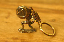 Ancient Greek Themed Keyring Key Chain - Leonidas The Spartan 300 Gold Zamac
