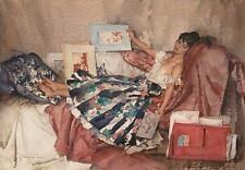 William Russell Flint THE RED PORTFOLIO Figurative Art (Unsigned) Released 2009