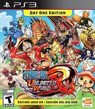 One Piece: Unlimited World Red Day One Edition (Sony PlayStation 3, 2014) SEALED