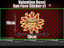 Valentino Rossi orange Sun Sticker X1 Moto GP The Doctor Fumi 46 vale racing v1