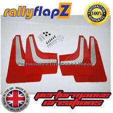 rallyflapZ HONDA CIVIC TYPE R FN2 (2007-2010) Mud Flaps Mudflaps Red 3mm PVC