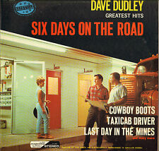 "DAVE DUDLEY ""SIX DAYS ON THE ROAD"" COUNTRY ROCK 60'S LP NASHVILLE 2065"