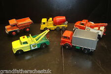 GENUINE VINTAGE COLLECTION MATCHBOX SUPERFAST CORGI JUNIOR HUSKY LOT TRUCK LORRY