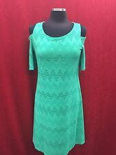 NINE WEST DRESS/COLD SHOULDER/NEW WITH TAG/RETAIL$89/SIZE 18/CELEDON/LENGTH 41""