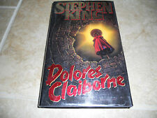 Stephen King Dolores Claiborne HB Signed Autographed Book PSA Certified