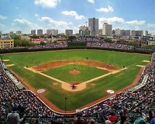 Chicago Cubs Wrigley Field MLB Baseball Photo 8x10