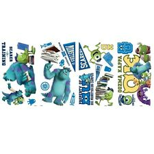 MONSTERS UNIVERSITY wall stickers 20 decals Disney Pixar Sulley Mike room decor