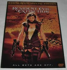 RESIDENT EVIL : EXTINCTION 11 X 15  Mounted Movie Promo Poster