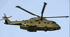 AgustaWestland AW101 US Airforce Helicopter Wood Model Replica SML Free Shipping