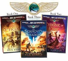 Rick Riordan's the Kane Chronicles (Bundle) : The Red Pyramid, the Throne of...