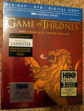 Game of Thrones: Third Season 3 - Lannister Edition - Blu-ray, Digital Copy, DVD