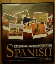 Rapid Results For Learning Spanish 12-CD Course Learn Another Language