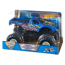 2016 Hot Wheels Monster Jam The Patriot Die-Cast Vehicle, 1:24 Scale