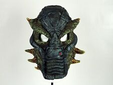 Alien Cyber Monster Predator Armor Latex Face Mask Halloween Costume Accessory