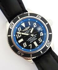 Breitling SuperOcean 42 Automatic Chronometre Watch A17364 Box & Papers. Great.
