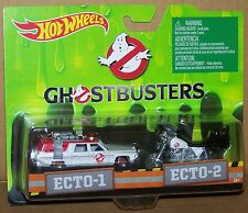 HOT WHEELS GHOSTBUSTERS 2 PACK GHOSTBUSTERS ECTO-1 AND ECTO-2