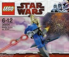 Lego Star Wars Battle Droid on Stap 30004 Polybag BNIP