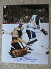 GERRY CHEEVERS AUTOGRAPHED 8X10 PHOTO BOSTON BRUINS #2