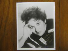 "GOGI GRANT(Died-Mar. 2016)Signed 8 X 10 Glossy B & W Photo(""THE  WAYWARD  WIND"")"