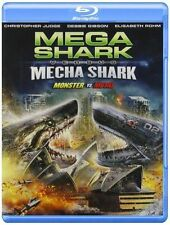 FREE US SH (int'l sh=$0-$3) NEW BLU-RAY Mega Shark Vs Mecha Shark [Blu-ray]~Emil