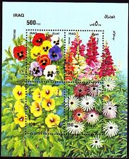 Irak Iraq 1989 ** Bl.65 Blumen Flowers