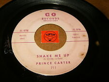 PRINCE CARTER - SHAKE ME UP - MR PAWNSHOP  / LISTEN - RNB  SOUL POPCORN