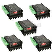 5x CNC Single Axis 4A TB6600 2/4 Phase Hybrid Stepper Motor Driver  Controller