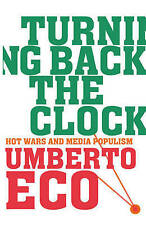 ECO,UMBERTO-TURNING BACK THE CLOCK BOOK NEW