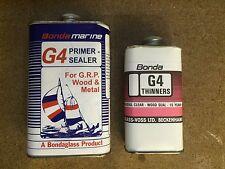 Bonda Marine G4 Primer - Sealer for G.R.P. Wood & Metal 500ml + 250ml Thinners
