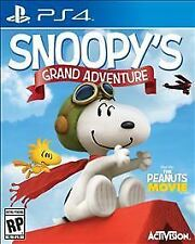 Peanuts Movie: Snoopy's Grand Adventure USED SEALED (Sony PlayStation 4, 2015)