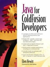 Java for ColdFusion Developers by Eben Hewitt (2003, Paperback)
